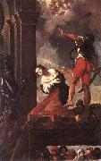 The Martyrdom of St Margaret fg CARRACCI, Lodovico